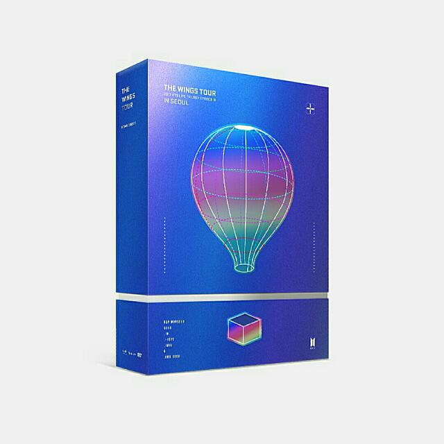 OFFICIAL BTS 2017 LIVE TRILOGY EPISODE III  (THE WINGS TOUR DVD)