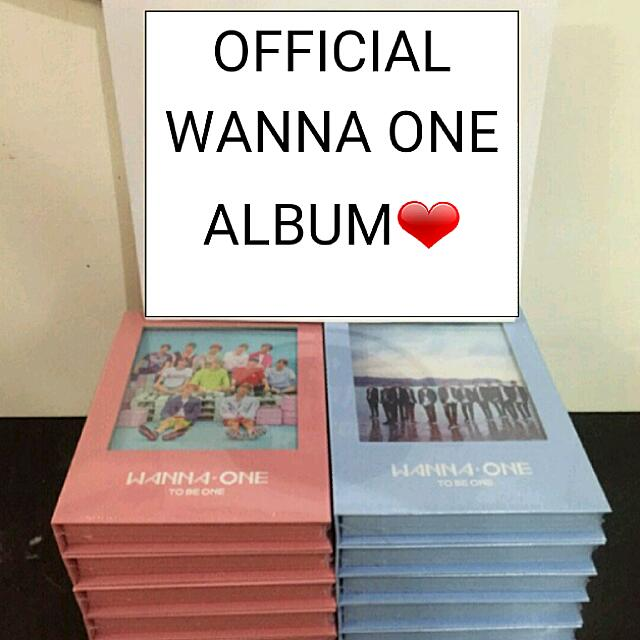 OFFICIAL WANNA ONE 1ST ALBUM WITH POSTER