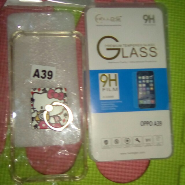 Oppo a39 take all Shockproof and tempered glass