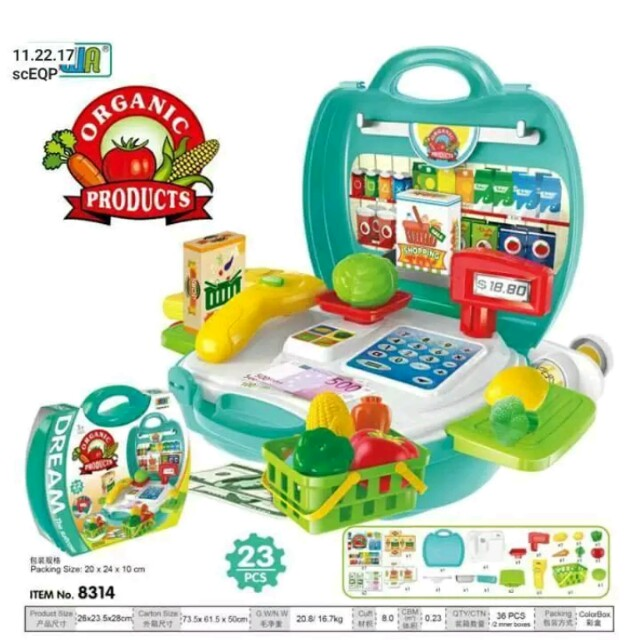 Organic Products Playset