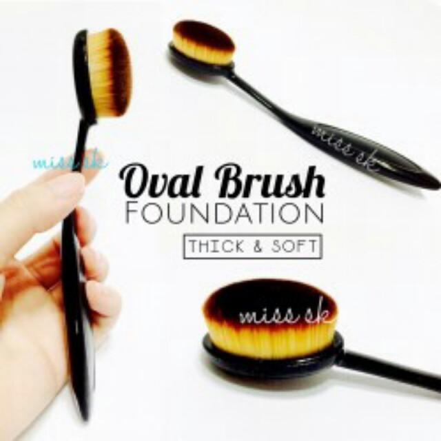 OVAL FOUNDATION FACE BRUSH (MAKE UP BRUSH) - SA053