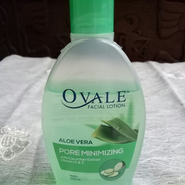 Ovale Facial Lotion Pore Minimizing with Cucumber Extract / Facial Cleanser / Toner