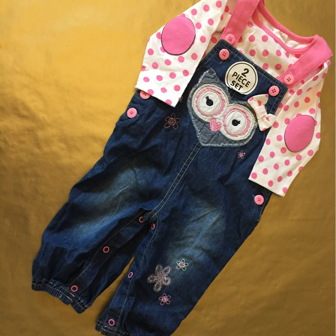 Overalls and Top