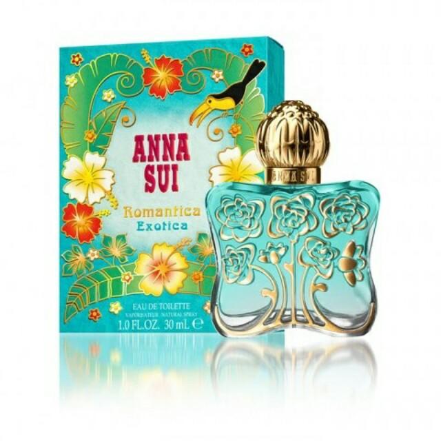 Parfum Original Anna Sui Romantica Exotica For Women EDT 75ml
