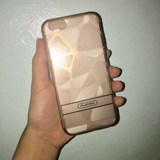 Platina gold case