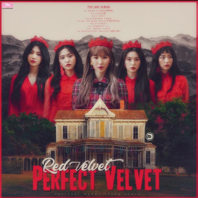 """Résultat de recherche d'images pour """"perfect velvet red velvet album"""""""