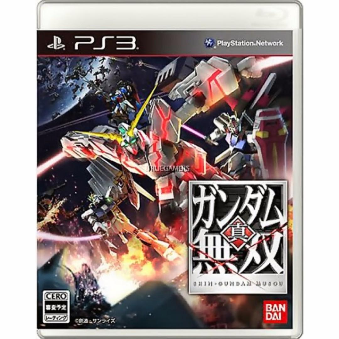 PS3 SHIN GUNDAM MUSOU CHI/JPN VERSION - R3