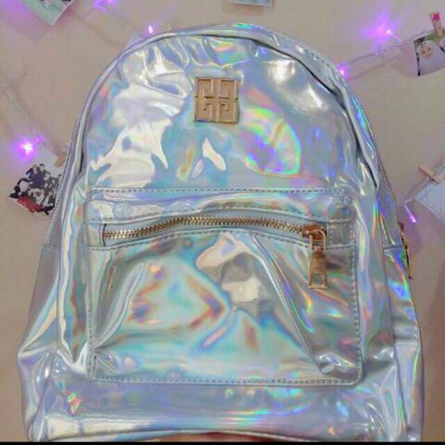 Ransel / Bagpack Hologram Import