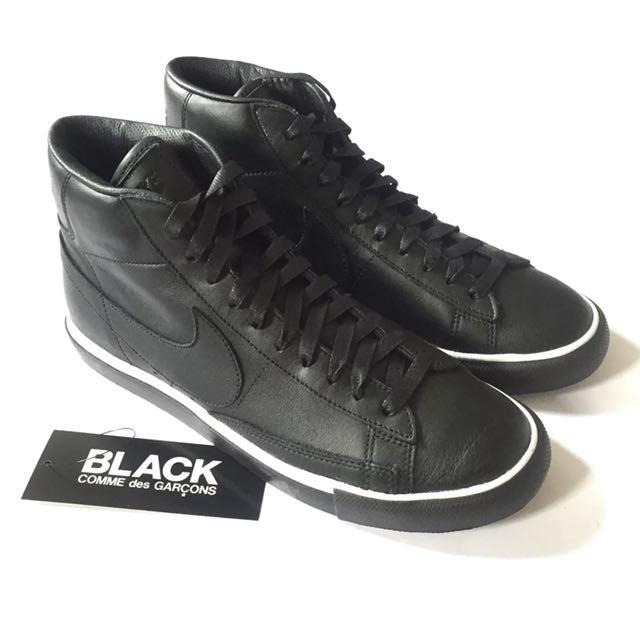 e1fa7e2d7f0 RARE! COMME des GARCONS BLACK x Nike Blazer High Premium CDG SP ...