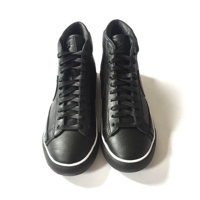 24bb0695a882 RARE! COMME des GARCONS BLACK x Nike Blazer High Premium CDG SP ...