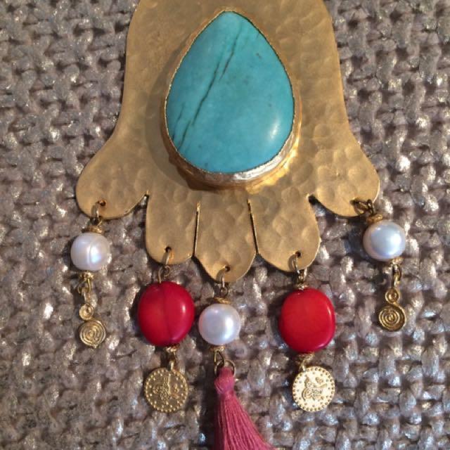 REDUCED! Unique Long Boho Necklace RRP $130