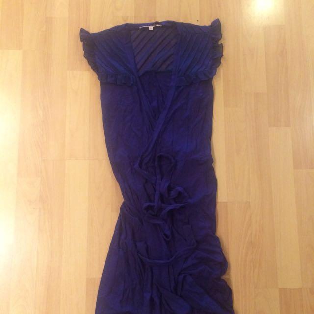Review Wrap Dress