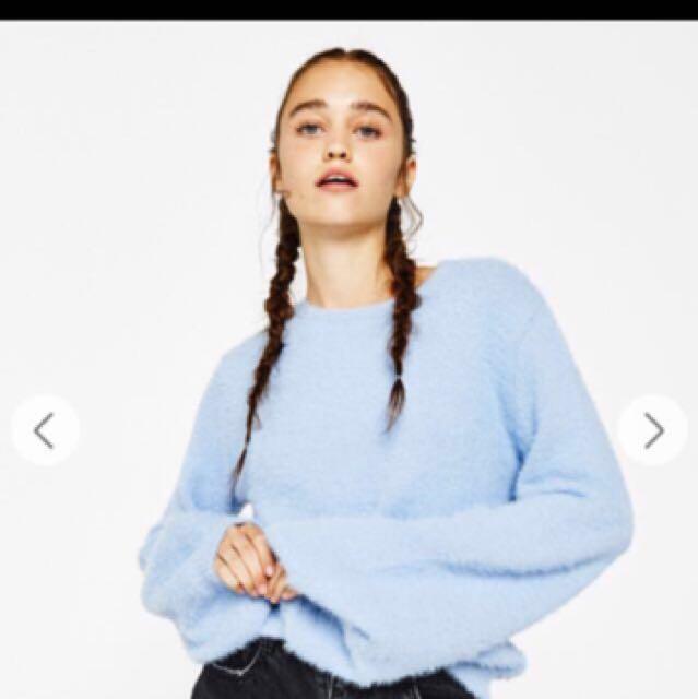 RUSH Bershka Fluffy Sweater