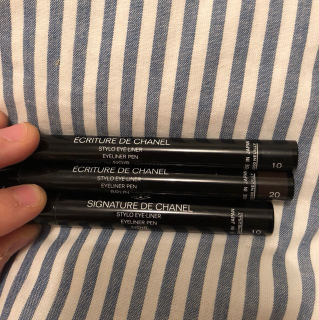 Selling these 3 Chanel liquid eyeliners