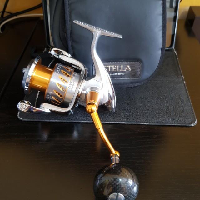 Shimano Stella sw 5000xg 2008 fishing reel, Sports, Sports