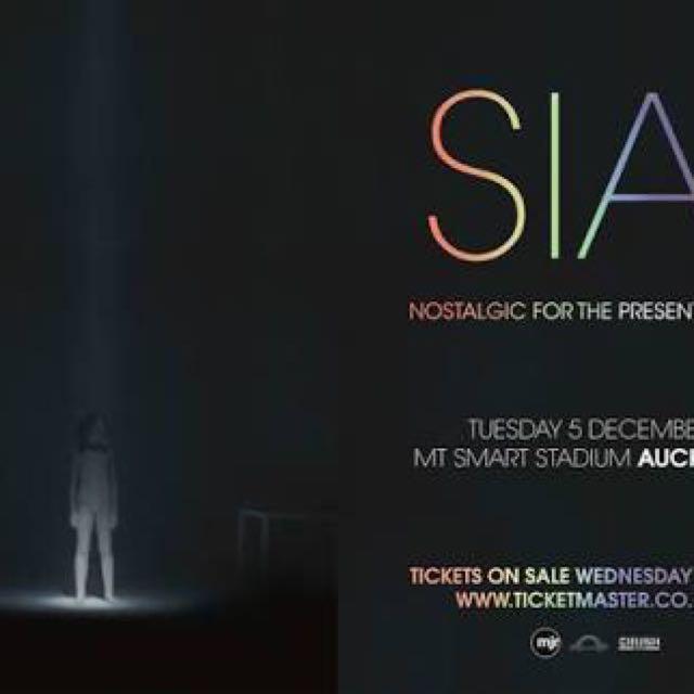 Sia NZ Tour!!