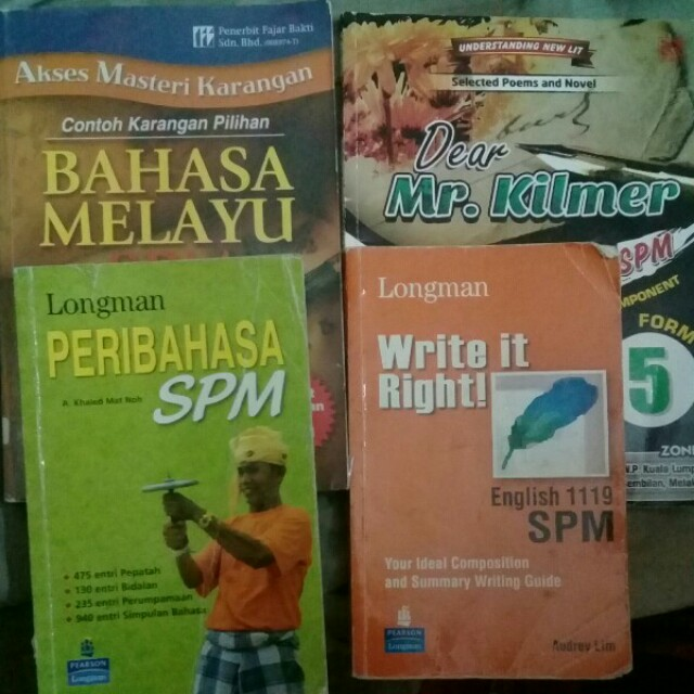 SPM REFERENCE BOOKS AND EXERCISE