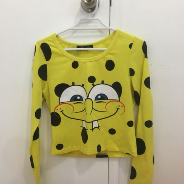 Spongbob Crop Top