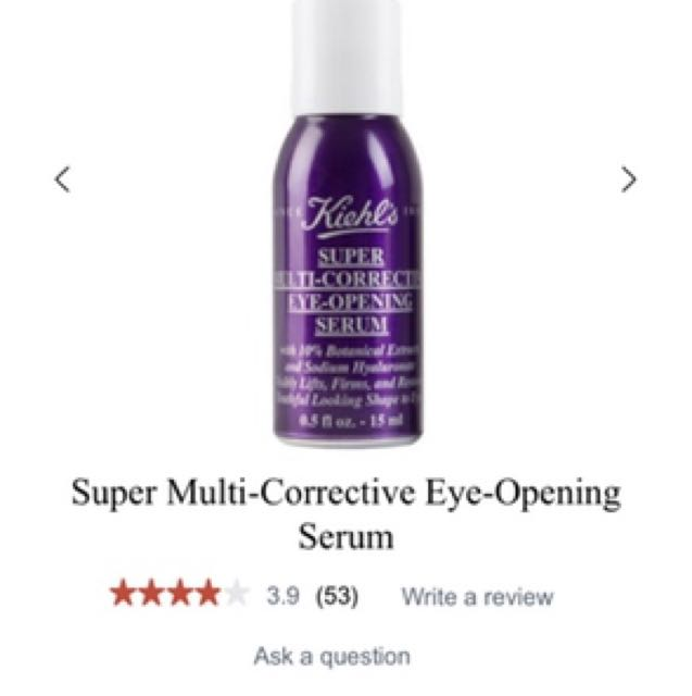 Super multi-corrective eye-opening serum