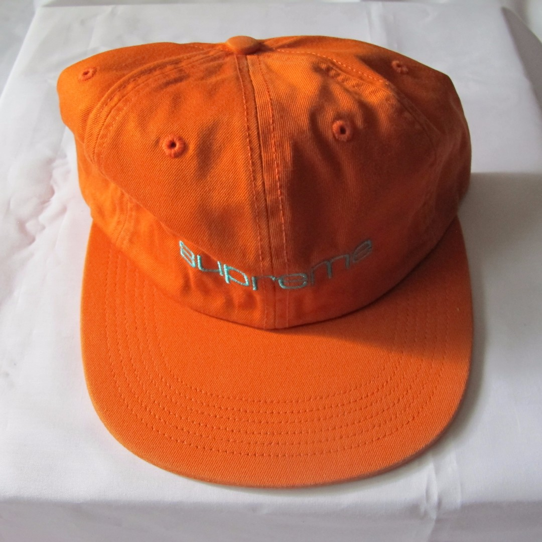 1315d3229a3 Supreme - Compact Logo 6-Panel (Orange)