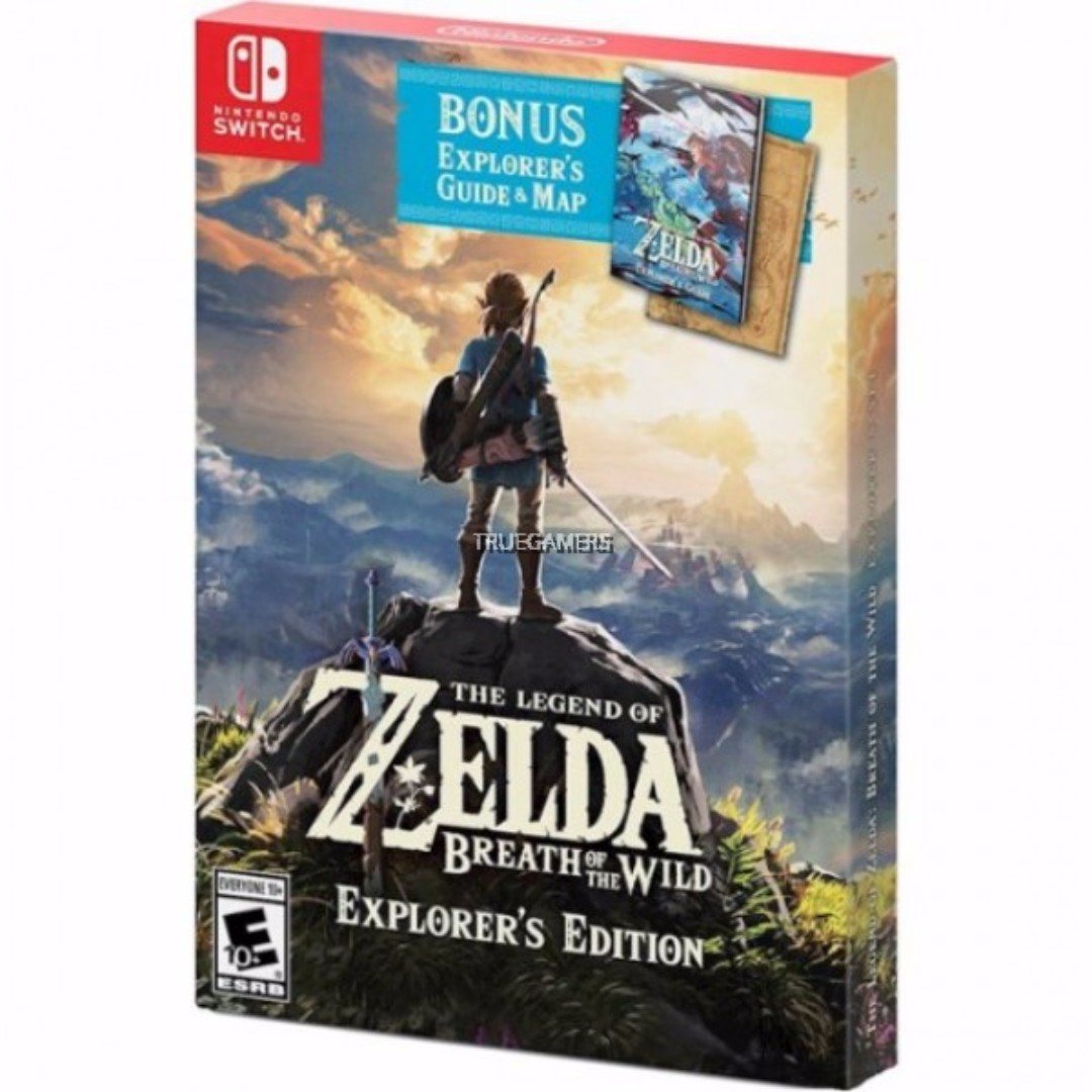 SWITCH THE LEGEND OF ZELDA: BREATH OF THE WILD EXPLORER EDITION