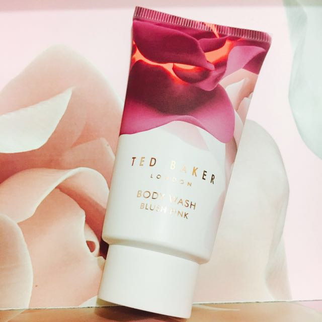 TED BAKER BODY WASH blush pink