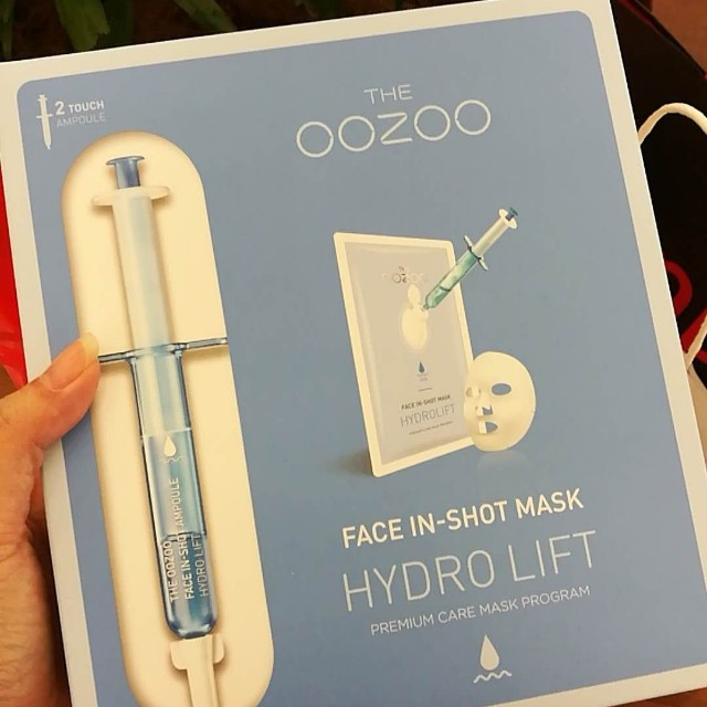 The Oozoo Face Injection Hydration Mask