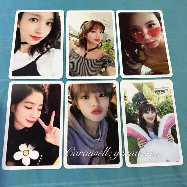Twice Twicetagram Insta Version Official Photocard