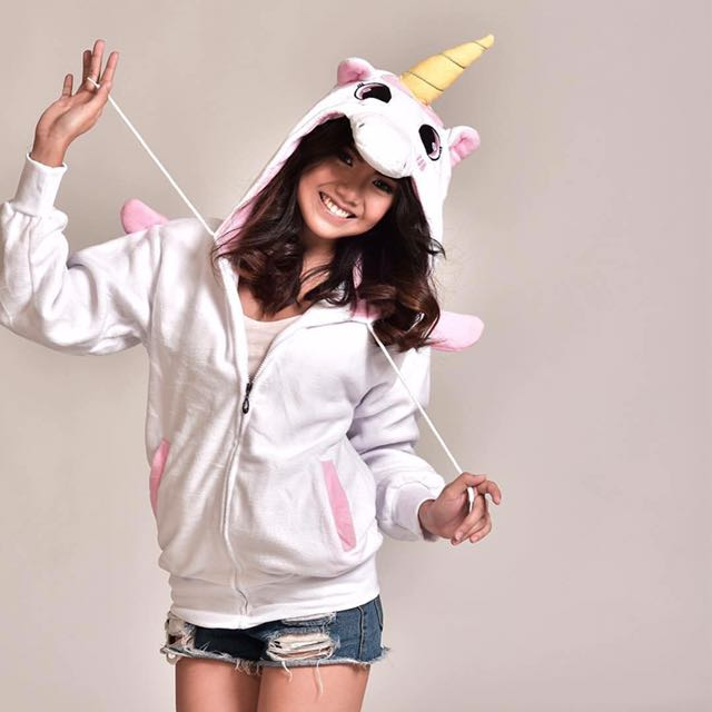 Unicorn hoodies with wings