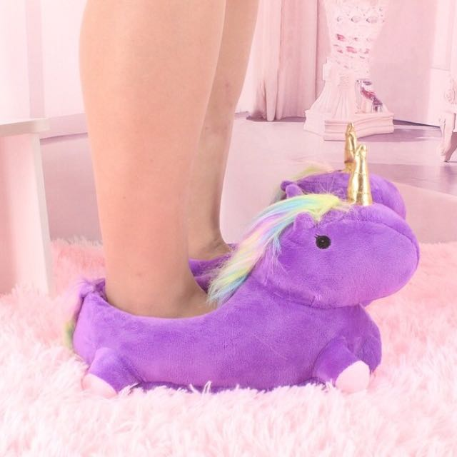 Unicorn slippers flip flops