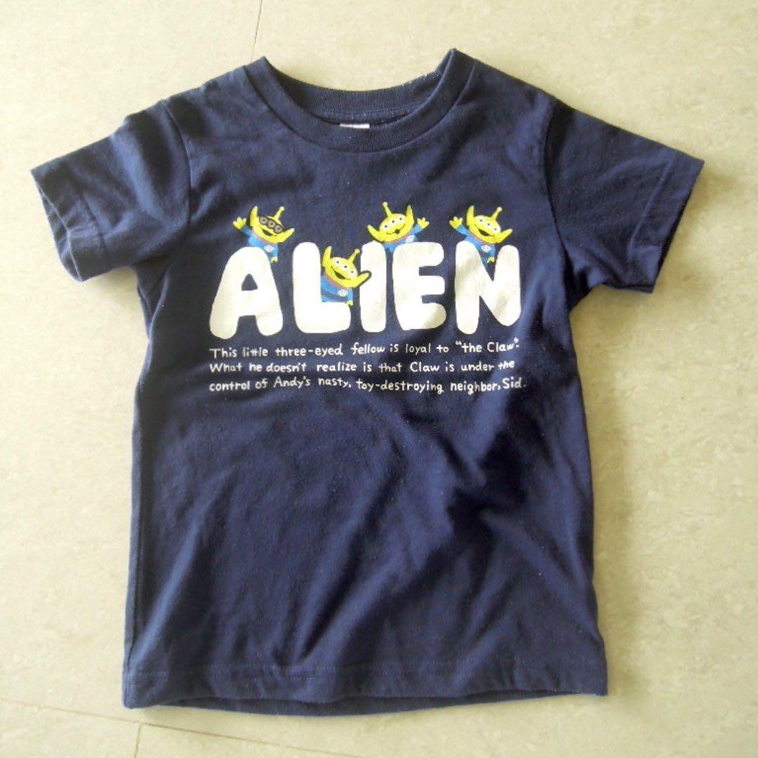 Uniqlo 100cm 迪士尼版 t-shirt 上衣 baby 寶寶 Disney kids 幼童 二手