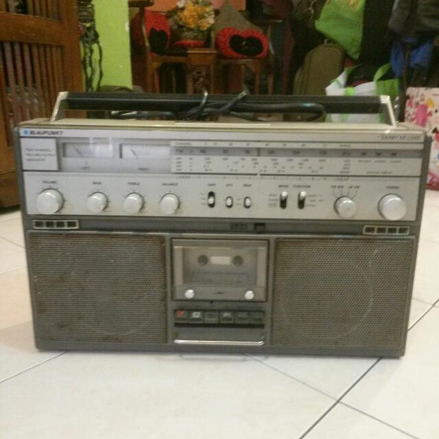Vintage Blaupunkt Derby Deluxe Radio Cassette