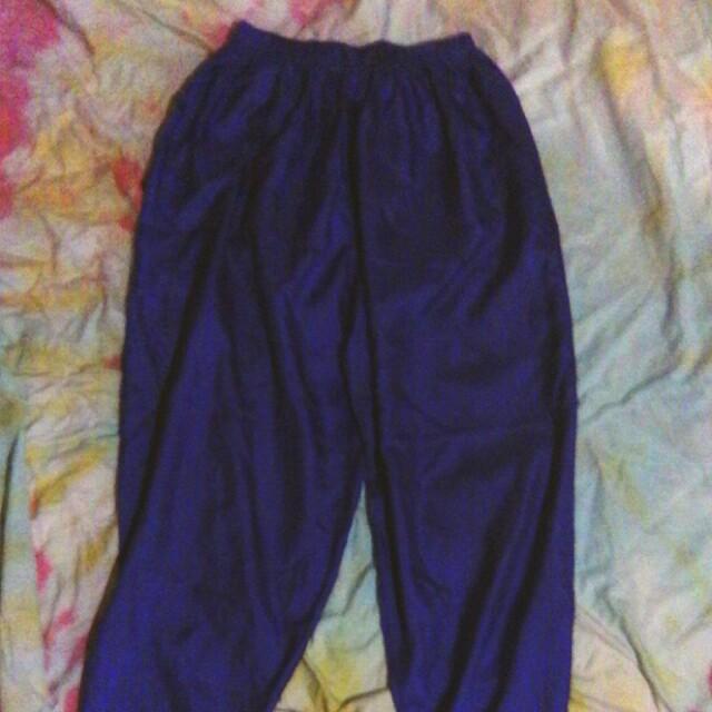 Vintage purple parachute balloon pants size 6
