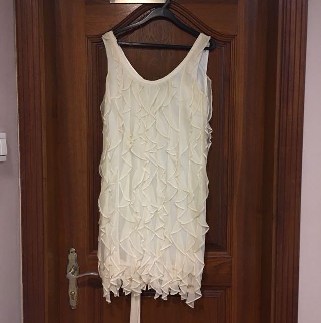 White Lisa Ho Lace Dress
