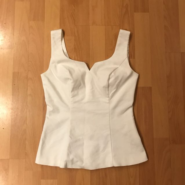 White Review top