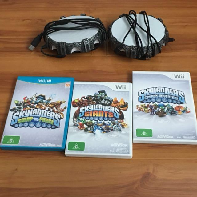 Wii Skylanders games