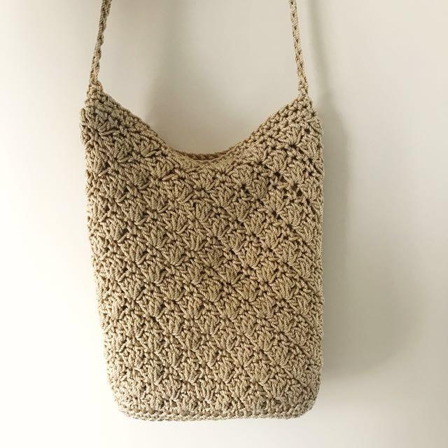 Woven Small Shoulder Bag