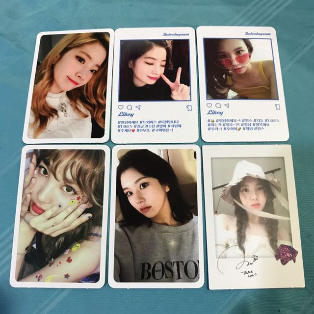[WTT] Twicetagram Official Photocard