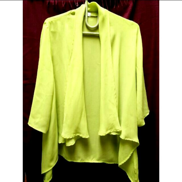 Yellow Neon Outer / Blouse (New Price)