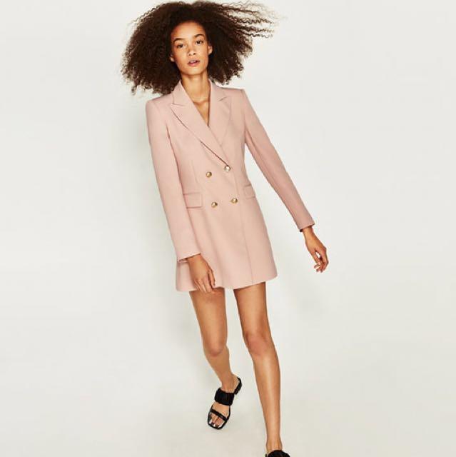Zara frock coat-dress