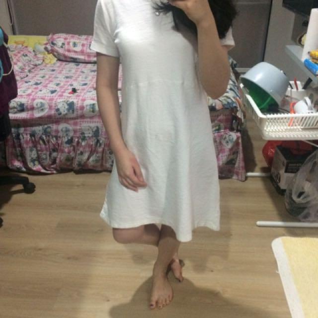 Zara trafaluc white basic S