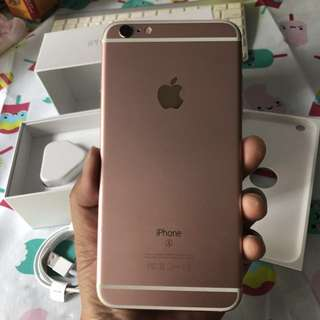 iPhone 6s Plus Rose Gold 128gb