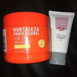 Sale!!! Hortaleza Hair Treatment + Freebie Watsons Lotion💕👌