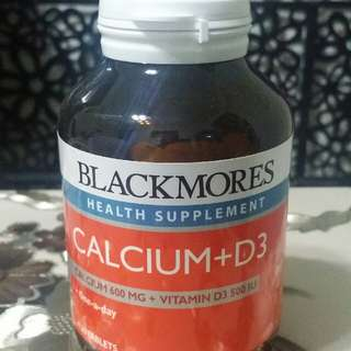 Blackmores Calcium + D3