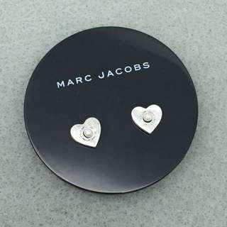Marc Jacobs Sample Earrings 銀色心心配珍珠耳環