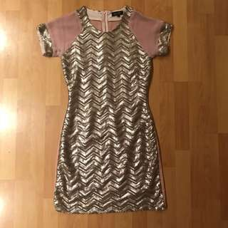 Elliat sequin dress