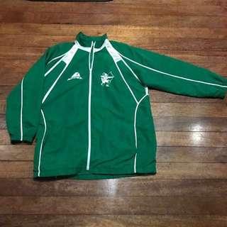 Used Varsity Team Accel DLSU  Green Archer Jacket (FIXED PRICE!)