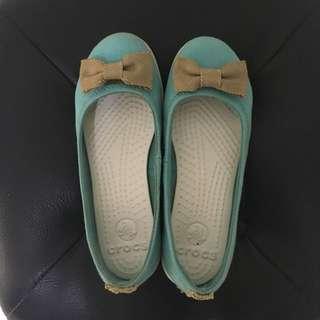 Crocs canvas ballerina flats