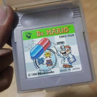 Dr. Mario for Gameboy Classic