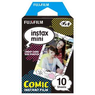 Fujifilm COMIC Instax Mini Film (10pcs)